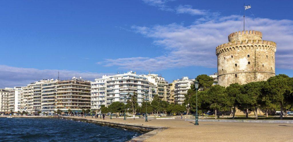 White Tower -Thessaloniki-Greece-